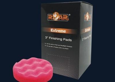 "3"" Red Finishing Foam RA904"