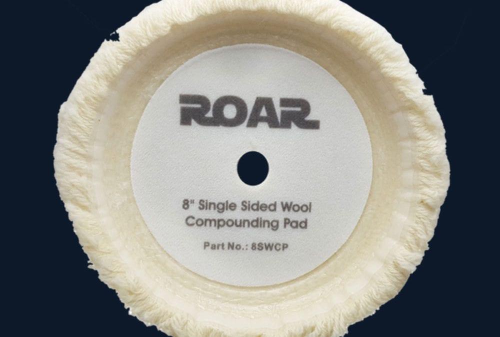"8"" Single Sided Wool Compounding Pad"