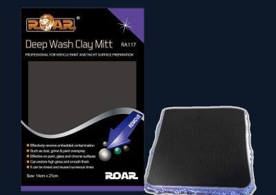 RA117 Deep Wash Clay Mitt
